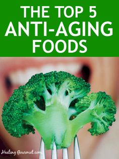 Learn about the natural anti aging compounds and anti aging foods that boost glutathione and keep you looking and feeling young and healthy!