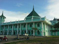 Masjid Agung  Sidenreng Rappang Distrik - South Sulawesi, Beautiful and big in town center of Sidrap