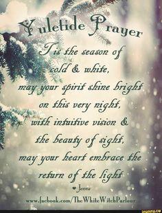 winter solstice prayers and rituals Yule Traditions, Winter Solstice Traditions, Yule Celebration, Pagan Yule, Noel Christmas, Christmas Medley, Christmas Ideas, Christmas Sayings, Woodland Christmas