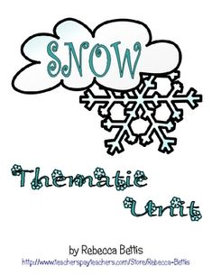 """Five literacy center activities (2 different levels for each).  Goes well with a """"Snowflake Bentley"""" unit!"""