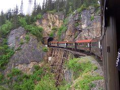 view from White Pass Railway