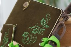 "The Real Bavarian OakLeaf iPad Case. It is made for the iPad, iPad 2 and ""The New iPad"""