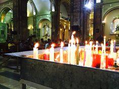 Devoción en la Catedral