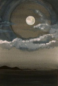 Les bienfaits de la lune. - I can see the moon