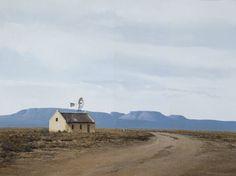 Peter Bonney Artist Studio South African Artists, Landscape Paintings, Landscapes, Painting Techniques, Love Art, Landscape Photography, House Styles, City Scapes, Drawings