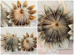 Beautiful Paper Proteas made by Karoo-Rosie Handmade. Order yours now… Folded Paper Flowers, Giant Paper Flowers, Origami Flowers, Diy Flowers, Fabric Flowers, Origami And Quilling, Paper Crafts Origami, Diy Paper, Paper Art