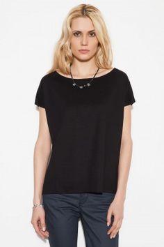 Basic&Co EILEEN Siyah Tişört: Lidyana.com