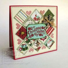 Cozy Christmas Inchie Card - Stampin Up | Stamps, Paper, Scissors | Bloglovin'
