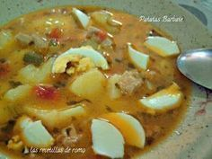 Patatas Barbate Carrot Recipes, My Recipes, Favorite Recipes, Patatas Guisadas, How To Cook Broccoli, Cooking Broccoli, Relish Recipes, Vegetarian Main Dishes, Spanish Dishes