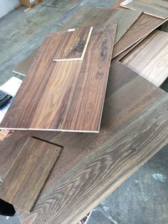 Suelo de madera de ingeniería nogal, arles, blois