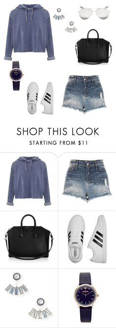"""Untitled #259"" by anne-mary-c ❤ liked on Polyvore featuring Miss Selfridge, River Island, Givenchy, adidas, Aéropostale, Emporio Armani and Victoria Beckham"