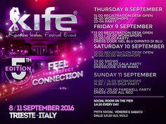 K.I.F.E. Kizomba Italian Festival Event dall8 all11 settembre a Trieste
