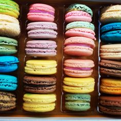 French Macarons from Rocq Cafe. So delish!