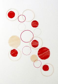 thread on paper Ingrid van den brand