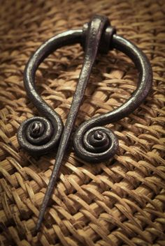 Penannular brooch -common long ago amongst the Celtic and Germanic tribes