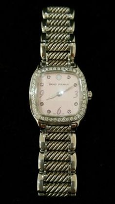 david yurman diamond watch pinterest