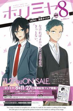 Miyamura lo amo, es tan divertido y encantador. Me encanta leer su manga