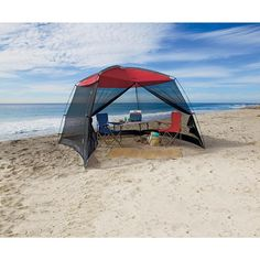 Screenhouse 10ft Carry Bag Tent Like Shelter Opaque Roof Mesh Sides Door 100 SFt #NorthwestTerritory