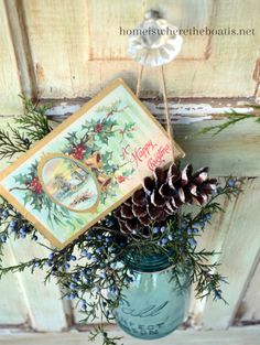 Decking The Halls in The Potting Shed | Home is Where the Boat Is