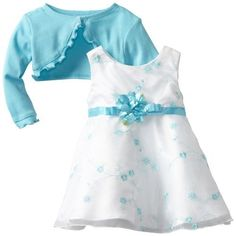 Youngland Baby-girls Infant Embroidered Dress with Flower Waist, Turquoise, 24 Months Youngland, http://www.amazon.com/dp/B0095Q17J8/ref=cm_sw_r_pi_dp_SniLrb01K5BV9