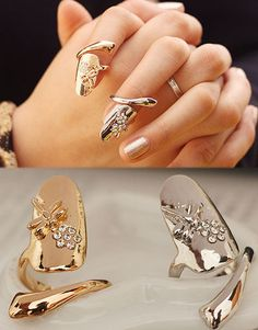 The Hottest Fashion Trend for the String, Get a Free Finger Tip Rings at watababies.com