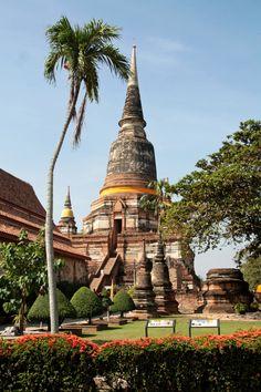 Wat Yai Chai Mongkhon . Ayutthaya . Thailand