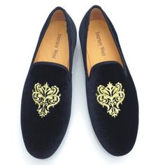 Wedding Shoes Ideas, Elegant Mens Casual Beach Wedding Shoes In Black Color Design Combined With Artistic Silver Floral Embroideries Beautify Mens Beach Wedding Shoes: Mens Beach Wedding Shoes For Comfort Wedding Party #weddingshoes