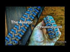 The Aviator Knot Paracord Bracelet by Cetus550 4-Strand without buckle. - YouTube