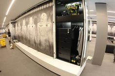 Seriously. This is a COLLEGE locker room. | 22 Ways The University Of Oregon's New Building Will Blow Your Mind