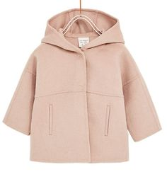 HOODED WOOL COAT-COATS-BABY GIRL | 3 months - 4 years-KIDS | ZARA United States