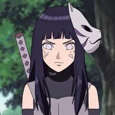 hinata on - Anime Naruto, Art Naruto, Naruto Cute, Naruto Girls, Otaku Anime, Manga Anime, All Anime, Anime Girls, Hinata Hyuga