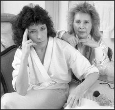 Jane Wagner and Lily Tomlin. xox