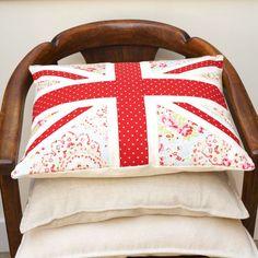 Best Of British: How To Make A Union Jack Cushion prima.co.uk