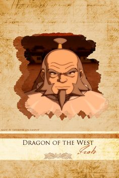 General Uncle Iroh from the Fire Nation in  Avatar: The Last Airbender