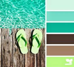 11 Greek Summer Color Palettes