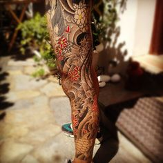 leg tattoo japanese - Cerca con Google