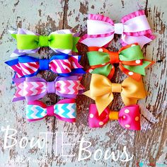 Bow Tie Bows: Guest Tutorial from The Ribbon Retreat | Sew4Home
