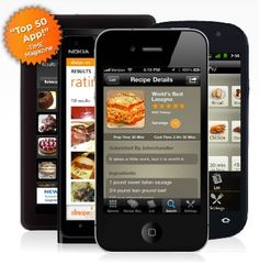 Recipes on-the-go with Grocery Scanner — Scan ingredients and search for recipes that use them.