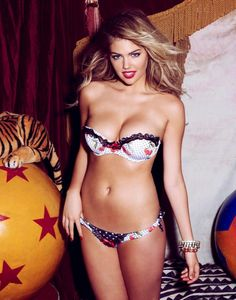 My fitness motivation: Kate Upton! She is slim and toned but still has curves. This is what I am striving for.
