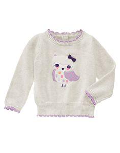 Owl Sweater at Gymboree