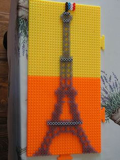 Eiffel tower hama perler beads