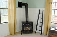 this pot belly stove actually looks okay