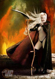 Lady Death Reaper by Jeffach.deviantart.com on @deviantART