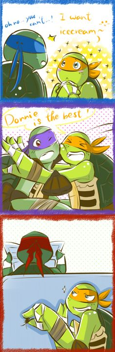 Mikey and his brothers by owiyalight.deviantart.com on @deviantART