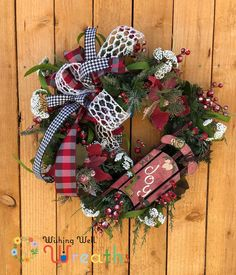 Your place to buy and sell all things handmade Halloween Door Wreaths, Christmas Mesh Wreaths, Deco Mesh Wreaths, Christmas Sled, Country Christmas, White Christmas, Snowman Decorations, Christmas Decorations, Winnie The Pooh Decor