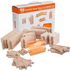 [$22.39 save 20%] Amazon #LightningDeal 71% claimed: 56 Piece Wooden Train Track Expansion Pack with Tunnel Comp... #LavaHot http://www.lavahotdeals.com/us/cheap/amazon-lightningdeal-71-claimed-56-piece-wooden-train/151675?utm_source=pinterest&utm_medium=rss&utm_campaign=at_lavahotdealsus