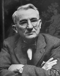 "Dale Carnegie was an American writer, lecturer and developer of famous courses in public speaking and self-improvement. He wrote How to Win Friends and Influence People (1936), a massive bestseller that remains popular today. One of the core ideas in his books is that it is possible to change other people's behavior by changing one's behavior toward them. Carnegie once said:  ""Fear doesn't exist anywhere except in the mind.""  Thank you Dale, your teachings on public speaking changed my life."