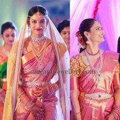 Telugu bride,South Indian Jewellery Designs: Abhinav Sagar Photography