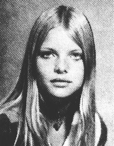 Michelle Pfeiffer was just as beautiful in high school as she is now! Before they became Hollywood stars, these celebs had to overcome their awkward teen years Celebrity Yearbook Photos, Yearbook Pictures, Celebrity Babies, Celebrity Pictures, Celebrities Then And Now, Young Celebrities, Celebs, Michelle Pfeiffer, The Witches Of Eastwick