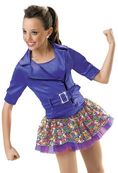 Jacket and Square Sequin Skirt; Weissman Costumes